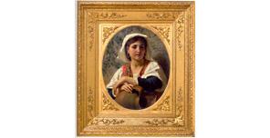 Профессор, итальянский живописец Луиджи Бечи
