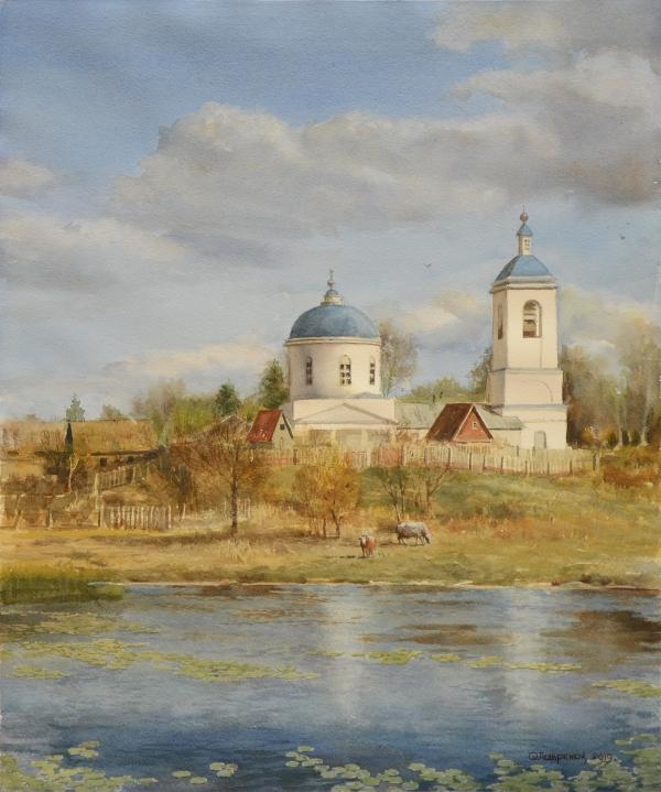 """Деревенский храм"""