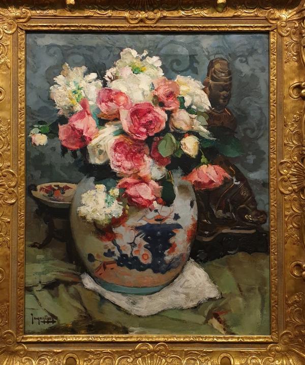 «Китайская ваза с розами»