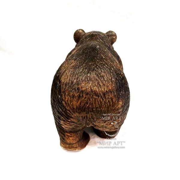 """Русский скульптор Евгений Николаевич Вяткин (1981 г.р.) """"Медведь"""""""