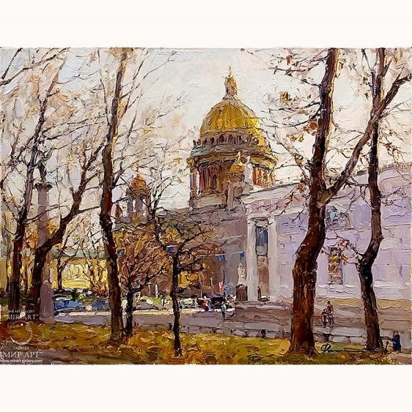 Сергей Филитов (род. 1964 г.) «Осеннее утро в Петербурге».