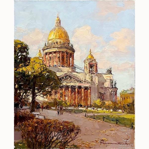 Сергей Филитов (род. 1964 г.) «Исаакиевский собор в солнечный день».
