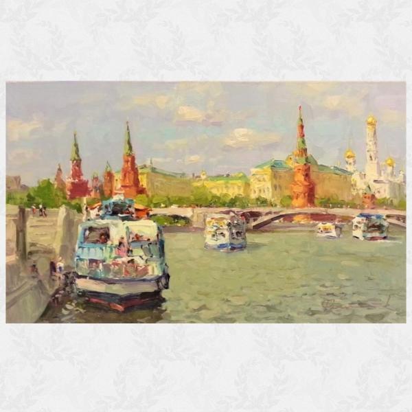 Сергей Филитов (род. 1964 г.) «Вид на Кремль»