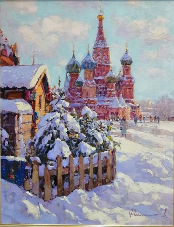 """""""Зима на Красной площади"""""""