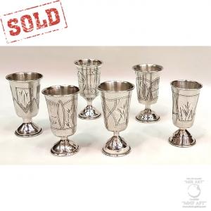 «Шесть антикварных серебряных рюмок»