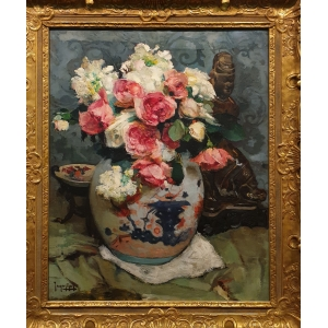 """""""Chinese vase with roses"""""""