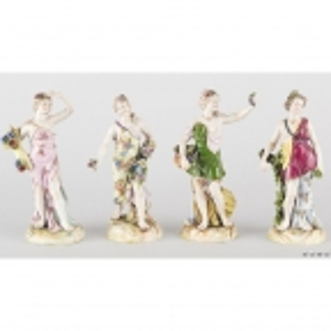 """""""4 женские фигурки с цветами и фруктами (""""Времена года"""")"""""""