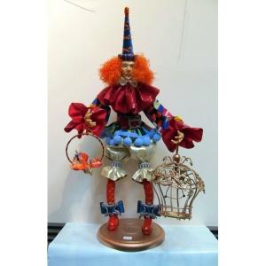 «Клоун с попугаем»