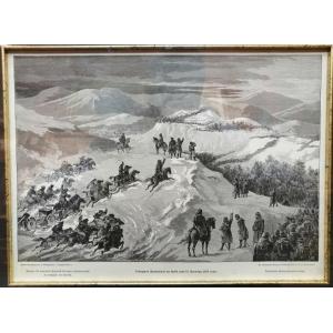 Генерал Дандевиль на Баб горе 15 Декабря 1877 года.
